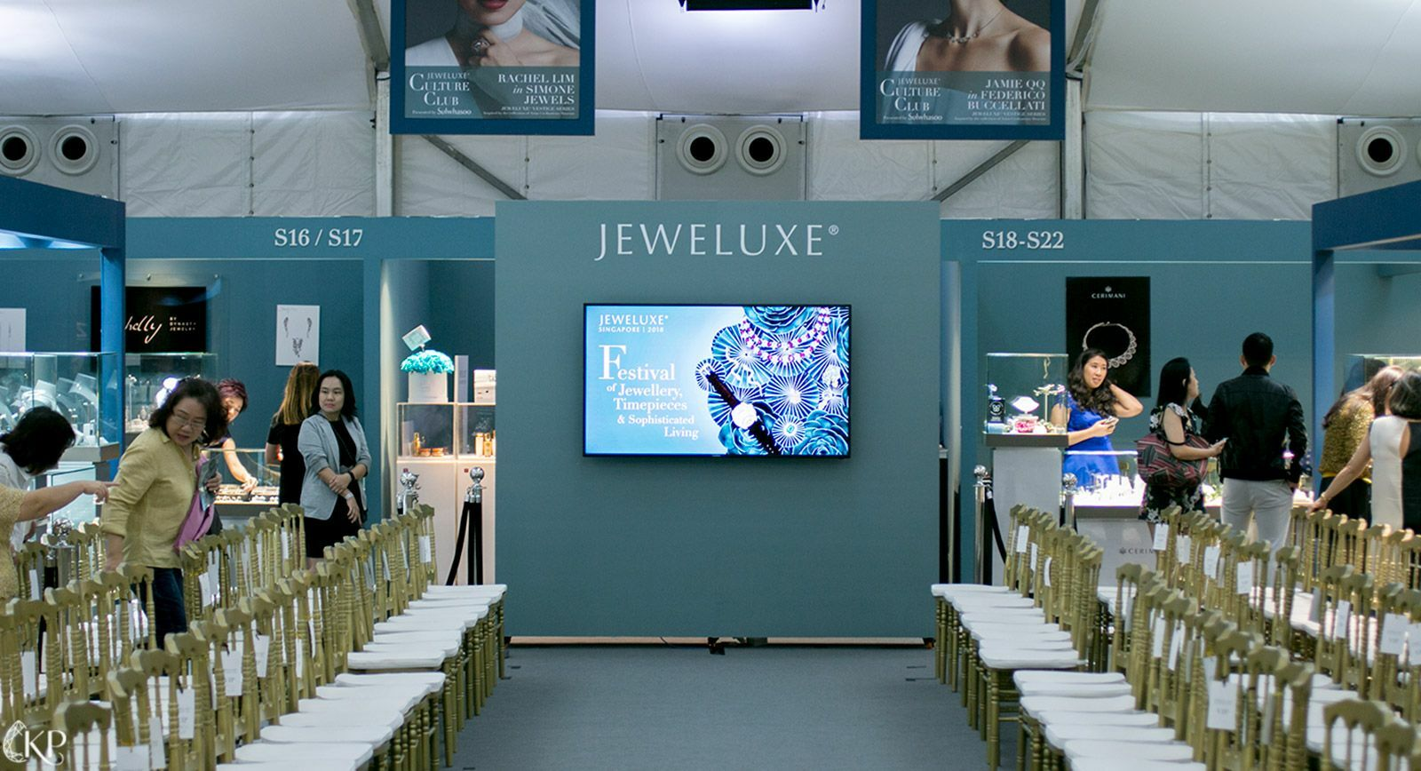 Jeweluxe 2018 exhibition in Singapore