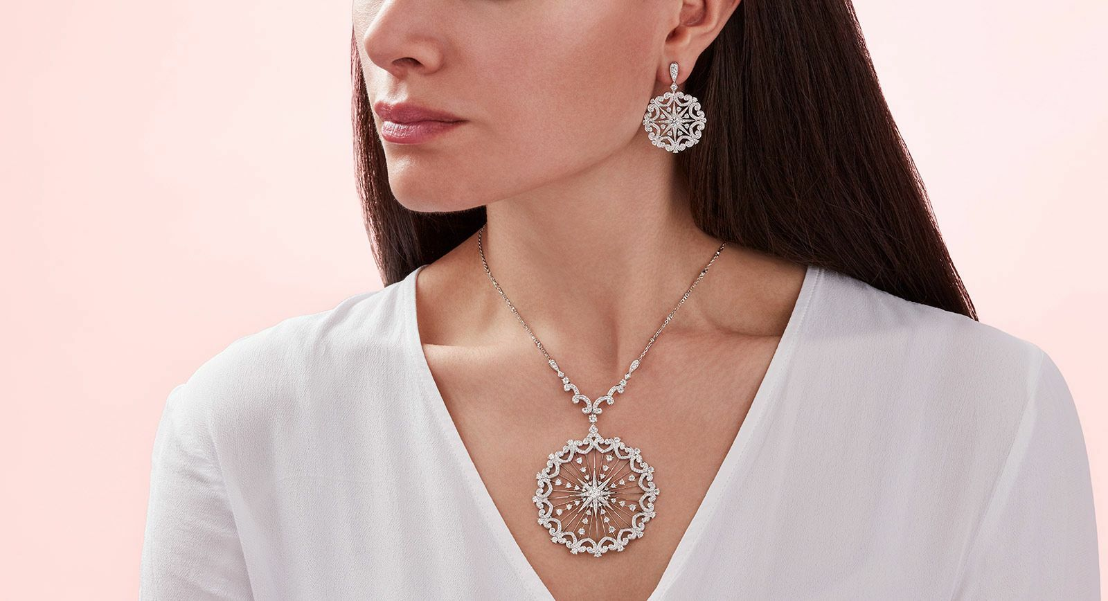 Garrard Muse collection jewellery with diamonds