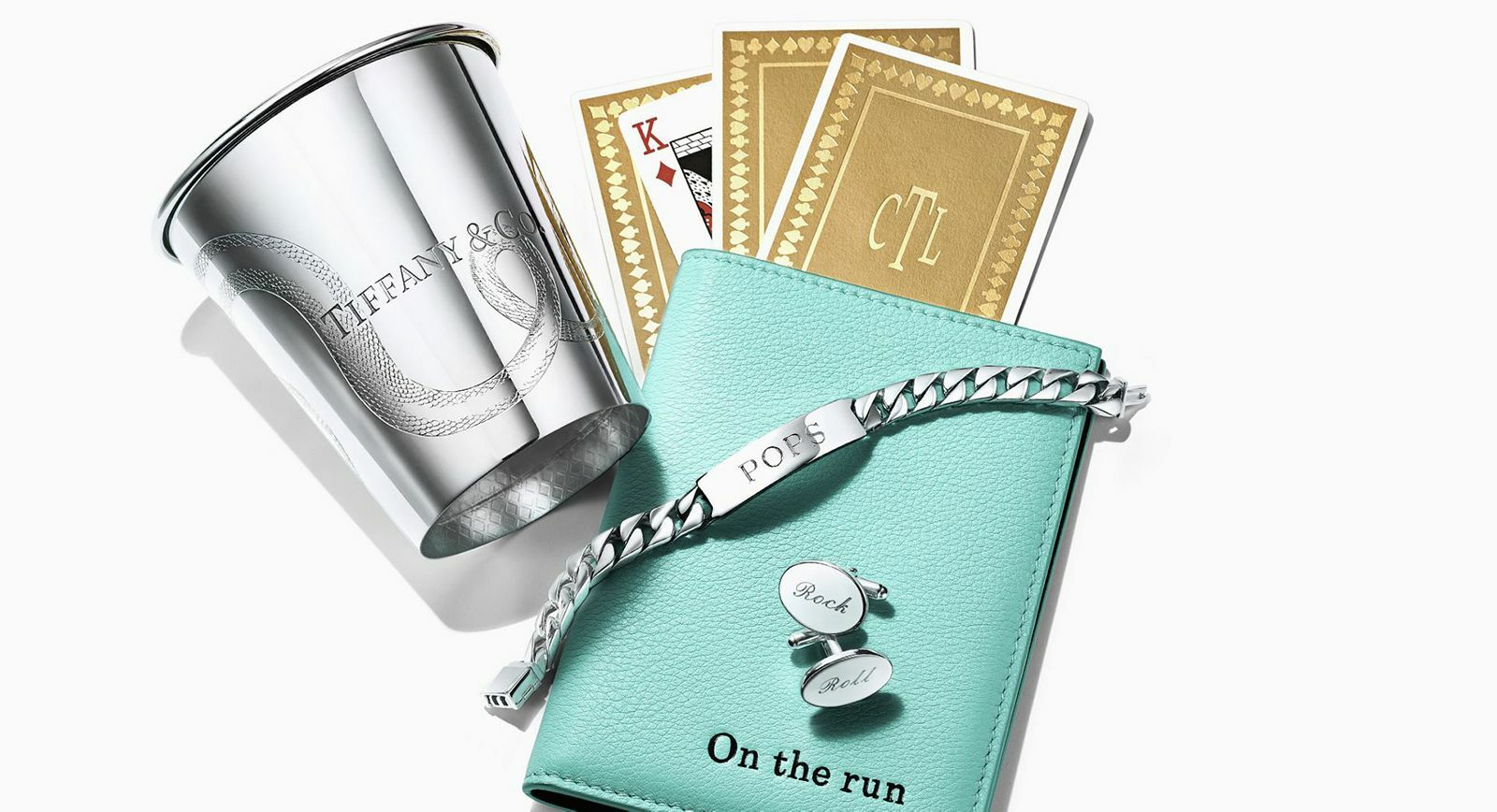 Tiffany&Co. engravable jewellery and gifts