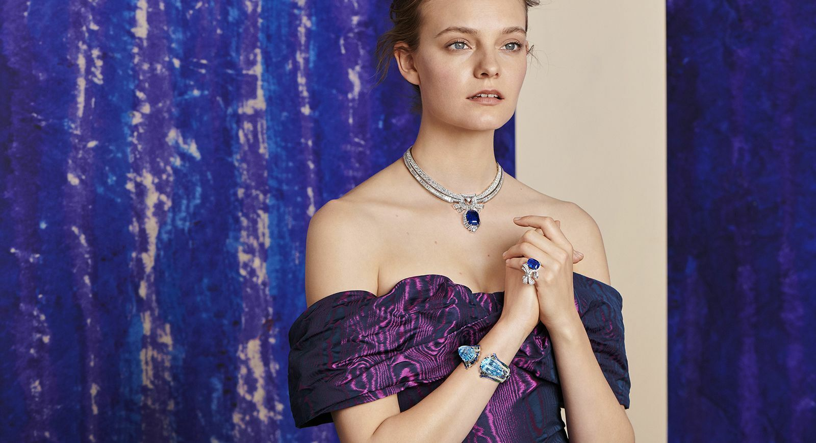 high jewellery with large gems