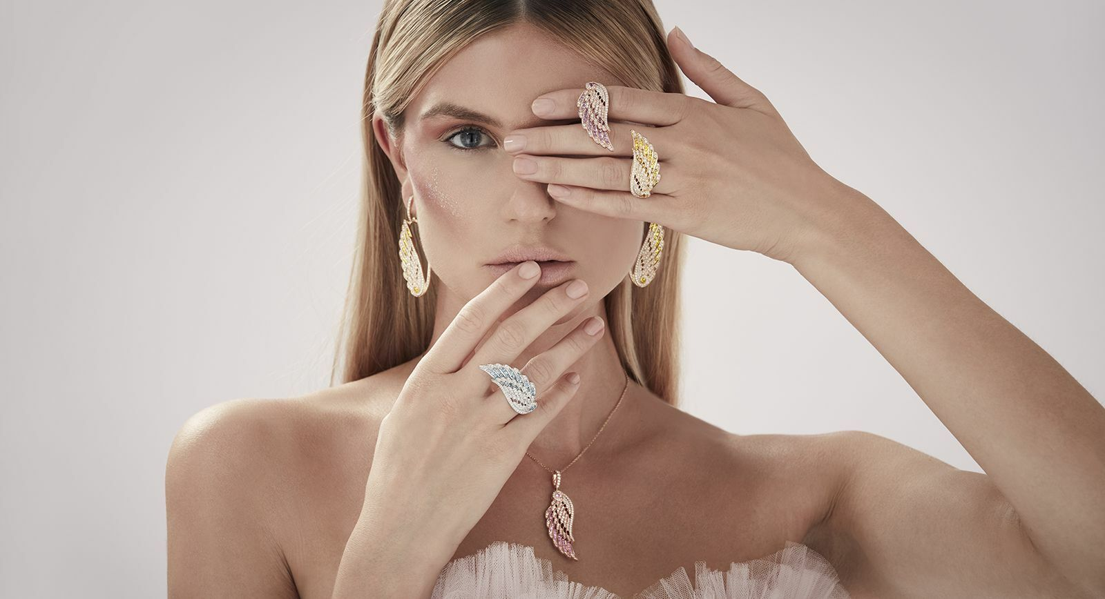 House of Garrard Wings fine jewellery collection