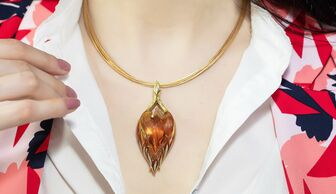 S1x1 henn of london phoenix necklace for banner