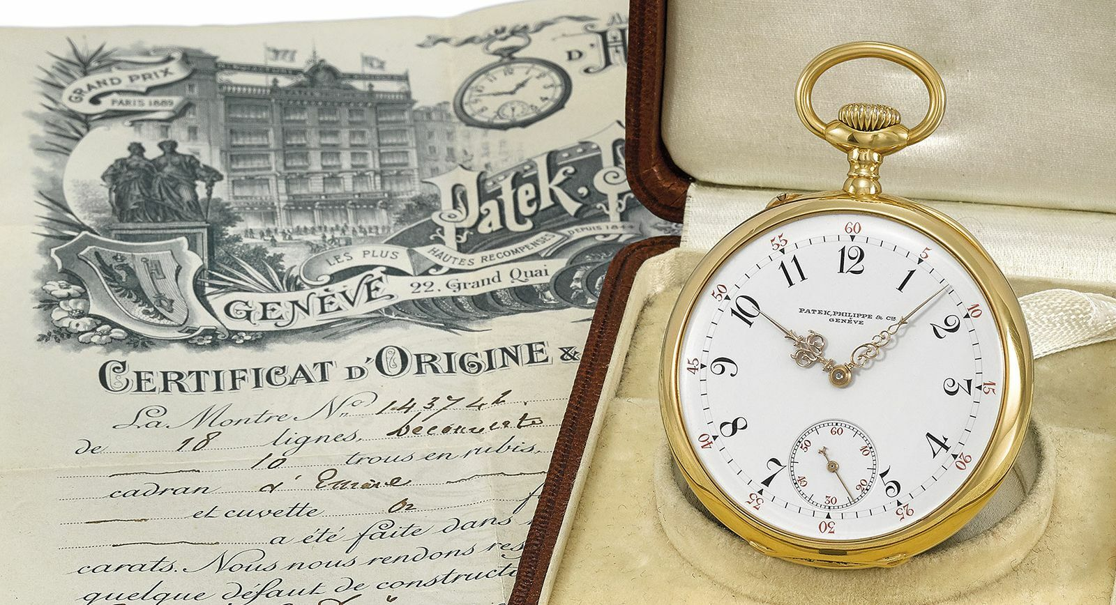 Pocket watch from Christies rare watch auction