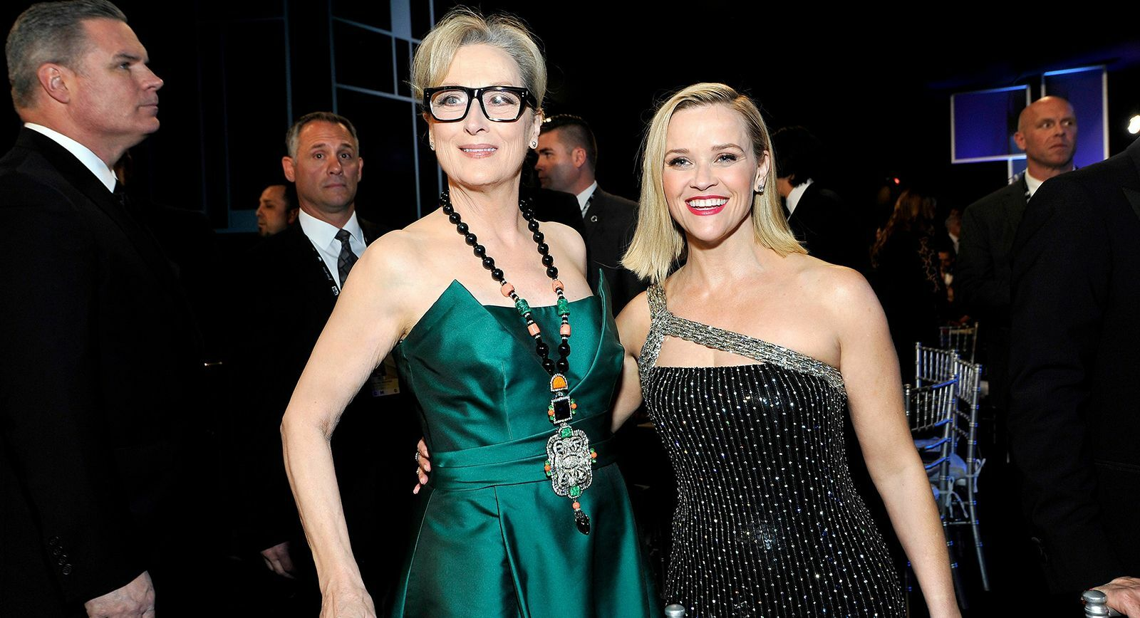 Meryl Streep and Reese Witherspoon at the SAG awards 2020