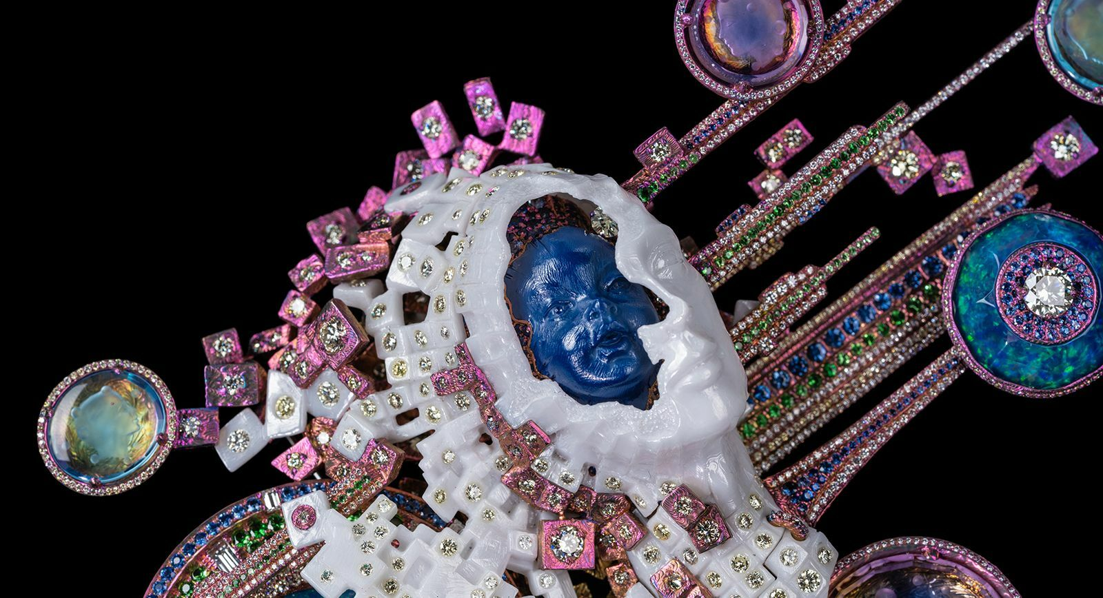 Wallace Chan jewellery for TEFAF Maastricht 2020