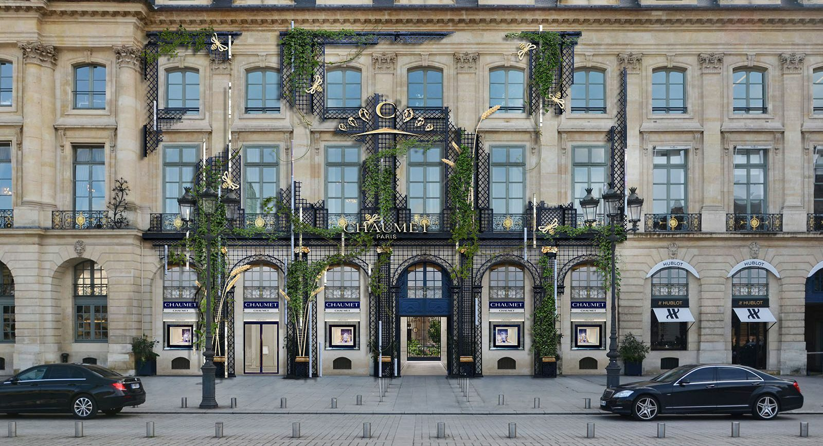 New Chaumet boutique Place Vendome