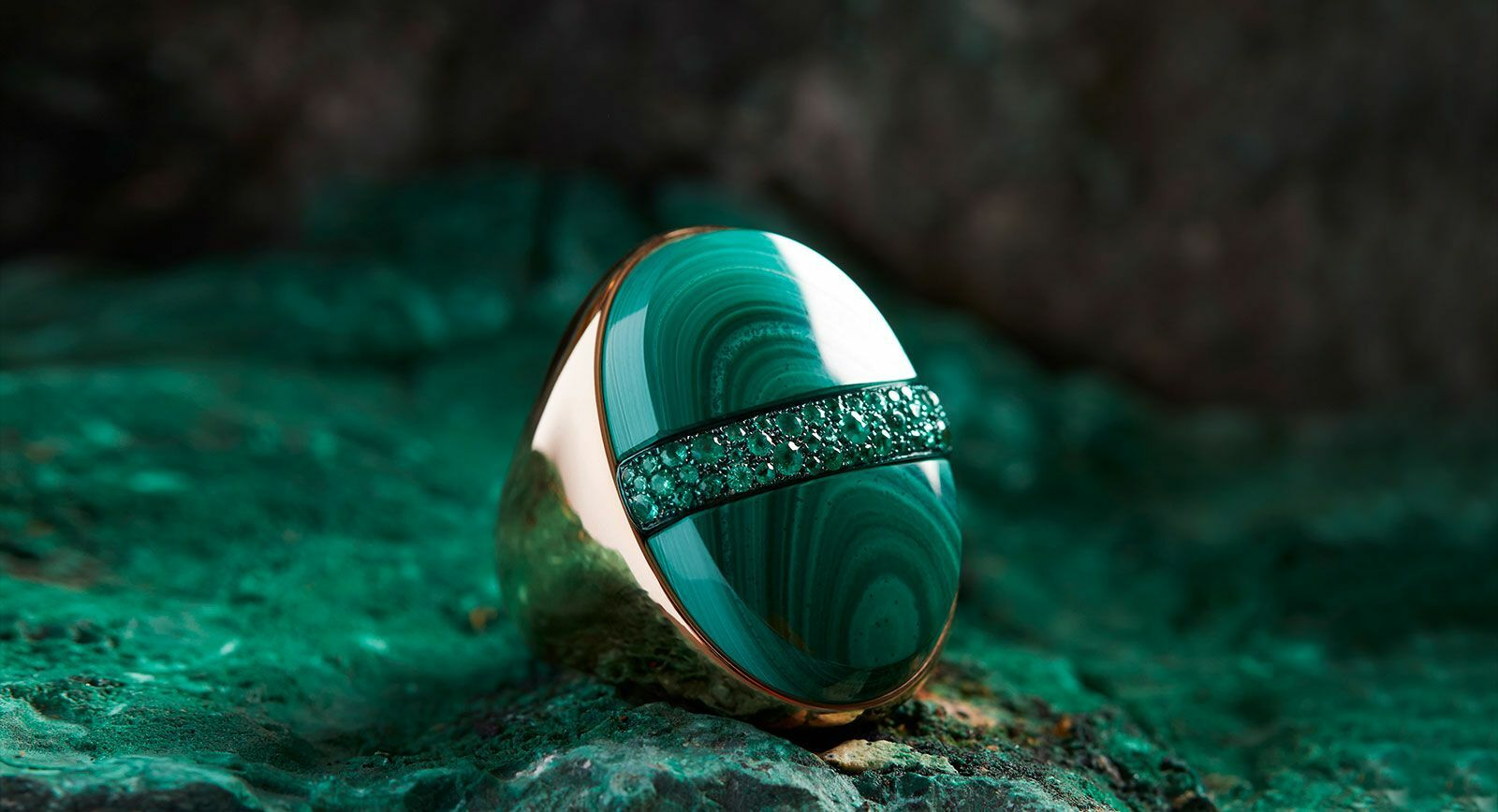 Pomellato Armonie Minerali new fine jewellery collection