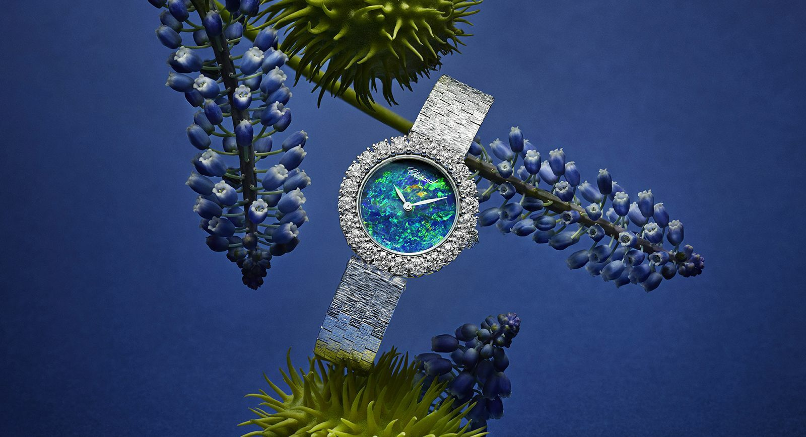 Chopard L'Heure du Diamant watch with opal and diamonds
