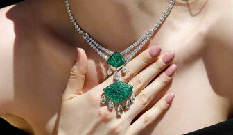 S1x1 bayco emerald necklace