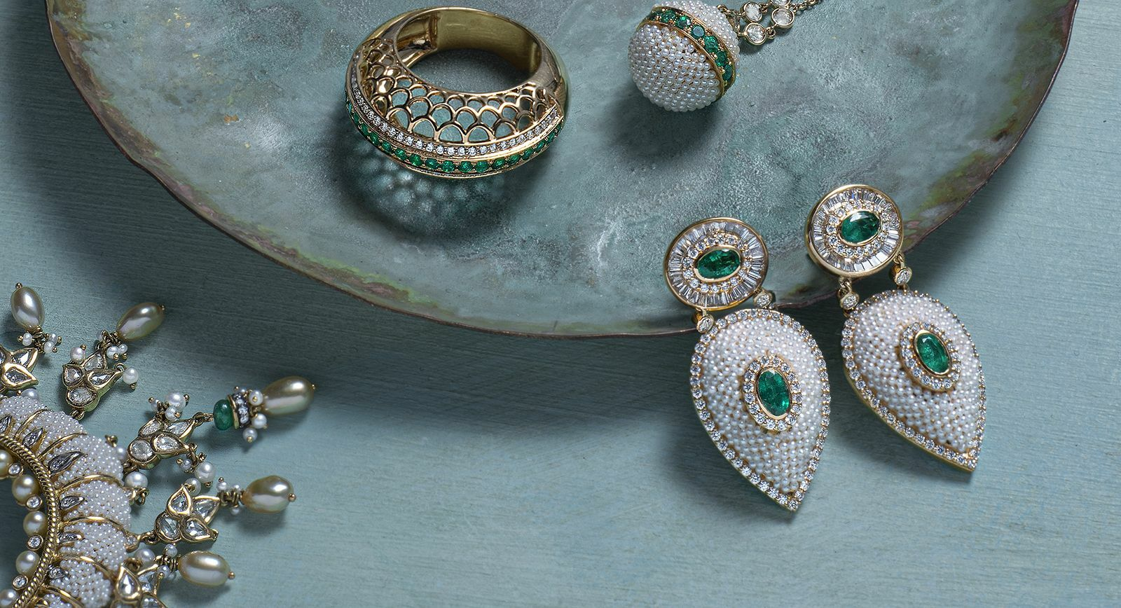 Moksh jewellery is inspired by the splendours of Mughal India