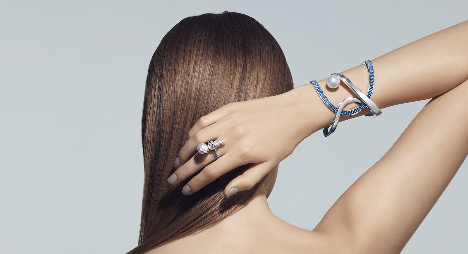 Tasaki Atelier pearl bracelet and ring