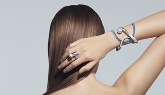 S1x1 tasaki atelier aurora ring bracelet with akoya pearl sapphires and diamonds