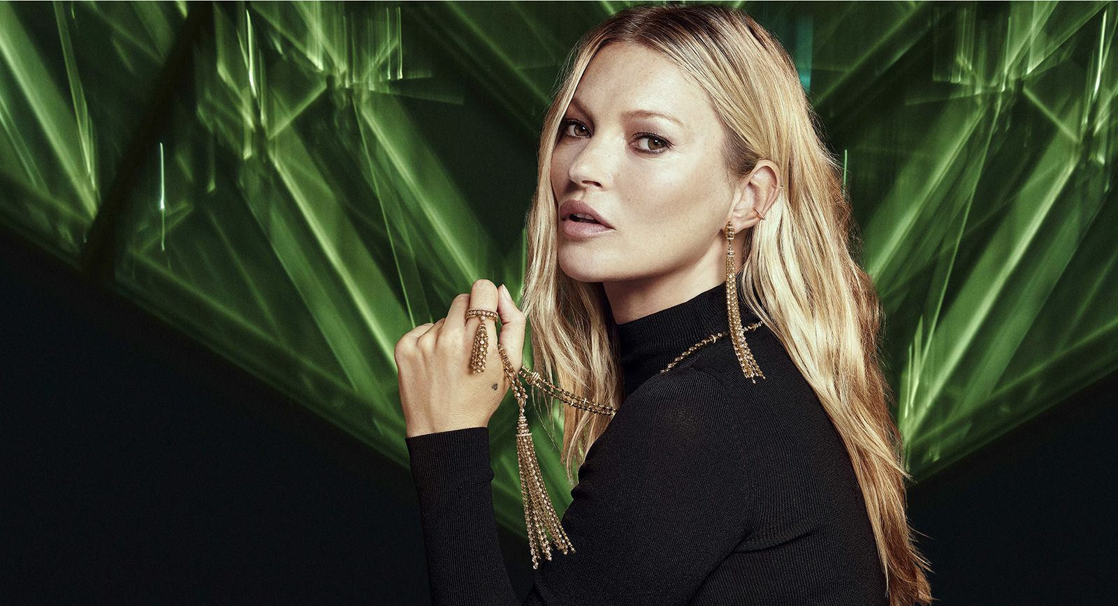 Kate Moss High Jewelry Couture collection for Messika