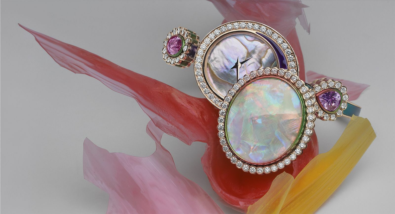 "Dior ""Dior et Moi"" High Jewellery Collection Secret Watch with Opal"