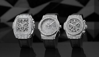 S1x1 hublot high jewelry collection