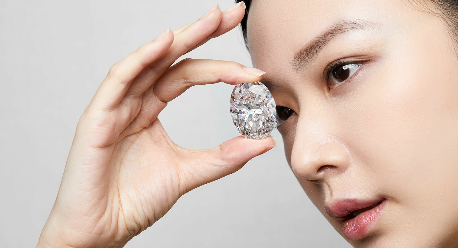 A Highly Important 102.39-Carat D Colour Flawless Oval Diamond Sold by Sotheby's