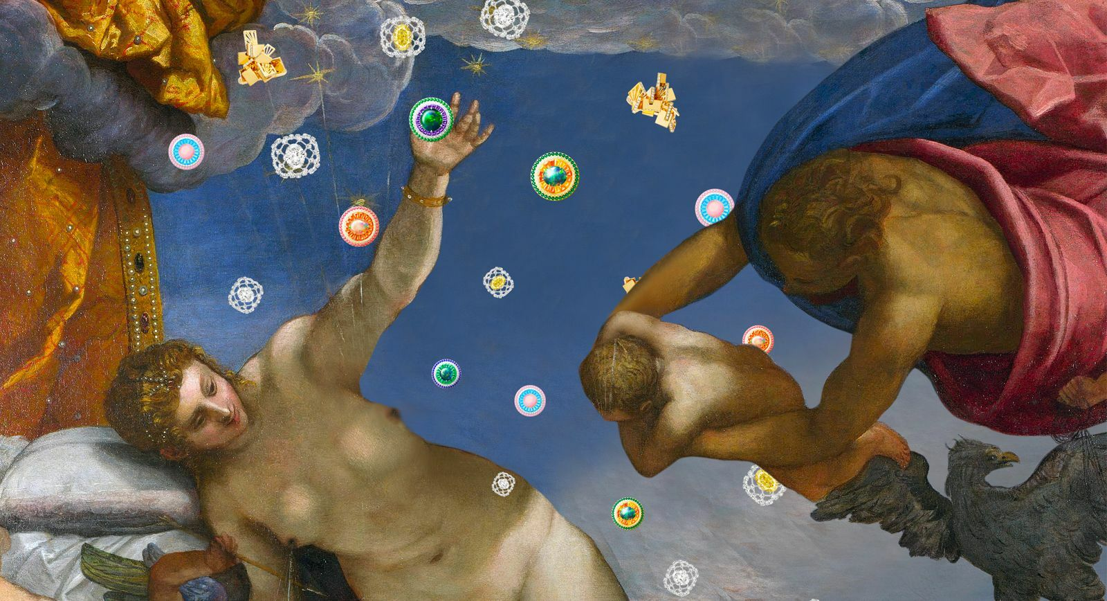 Jacopo Tintoretto, The Origin of the Milky Way // Chaumet