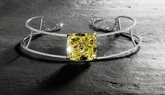 S1x1 messika victoria yellow diamond 60ct.