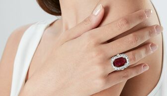 S1x1 christies auction ruby ring by harry winston