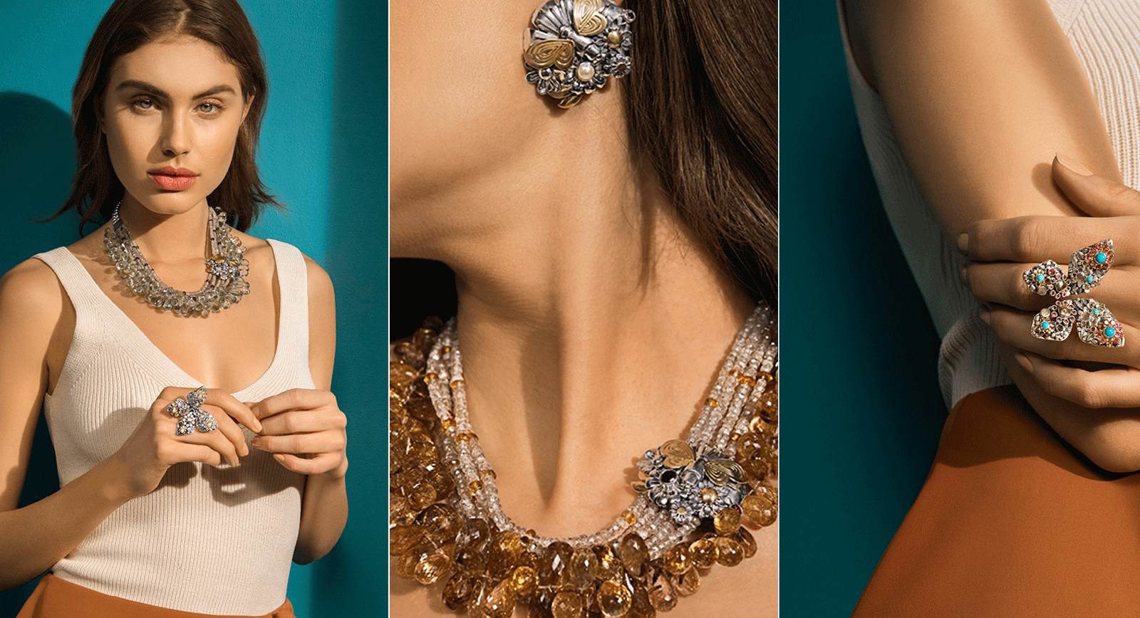 Azza Fahmy Presents Nature In All Its Glory In New Collection, The Wonders Of Nature