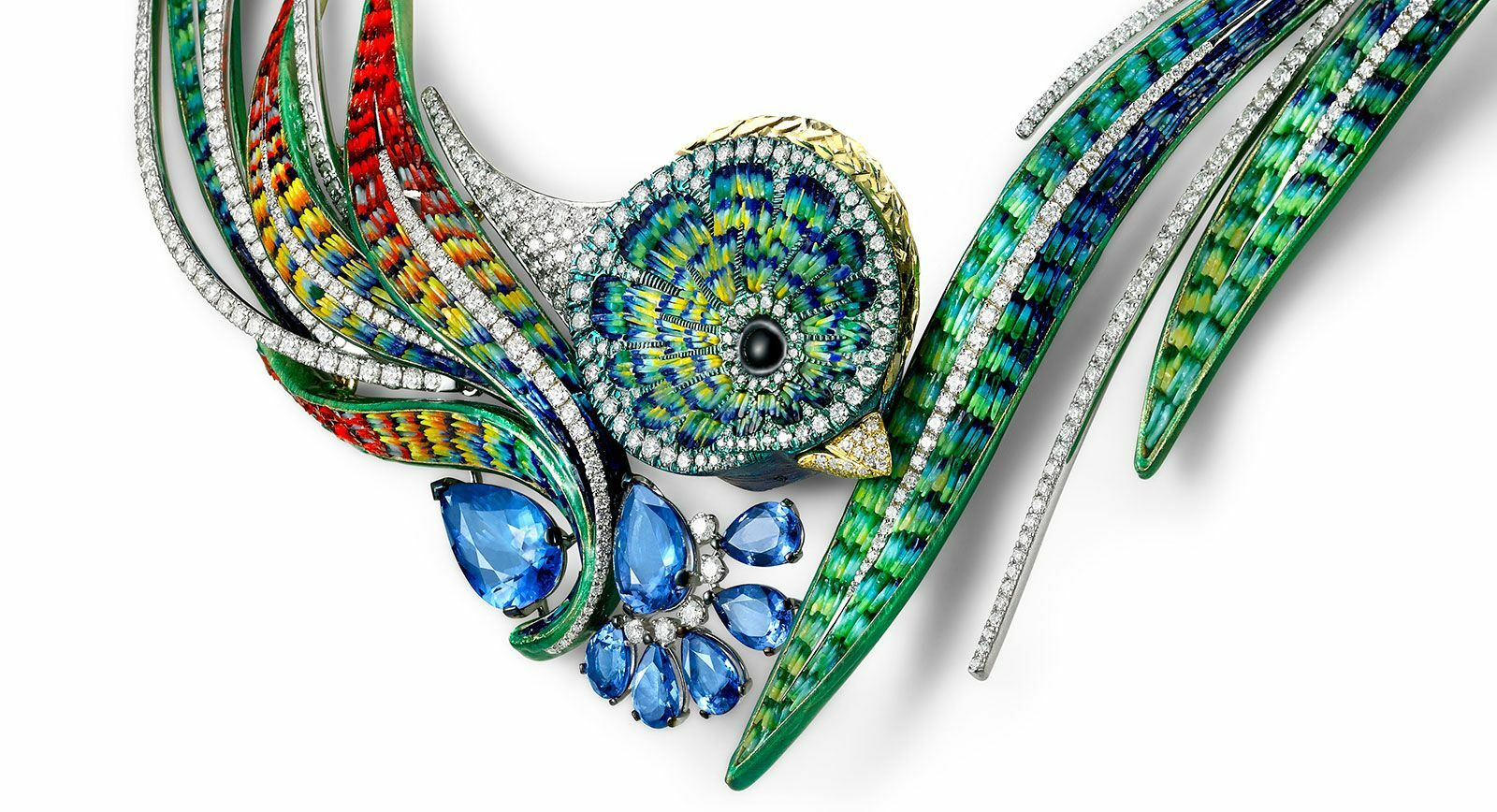 The Quetzal Necklace: a Continuation of the Eponymous Surreal Jewellery Line From Sicis