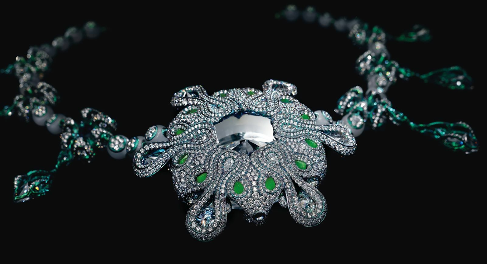 'A Heritage in Bloom' Necklace by Wallace Chan – a True Marvel of Jewellery Design