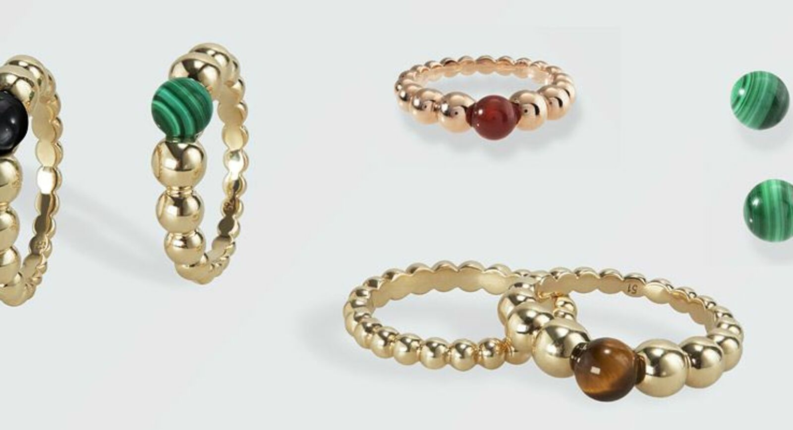 New Perlée Collection by Van Cleef&Arpels, this time with splashes of colour