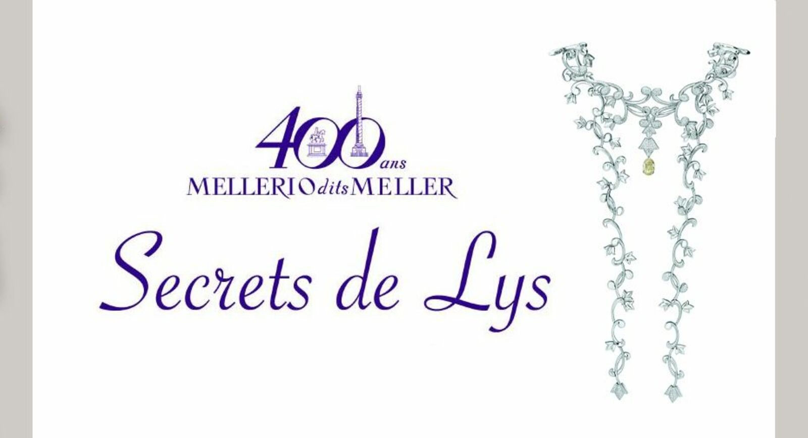 The new Secrets de Lys collection by Mellerio dits Meller