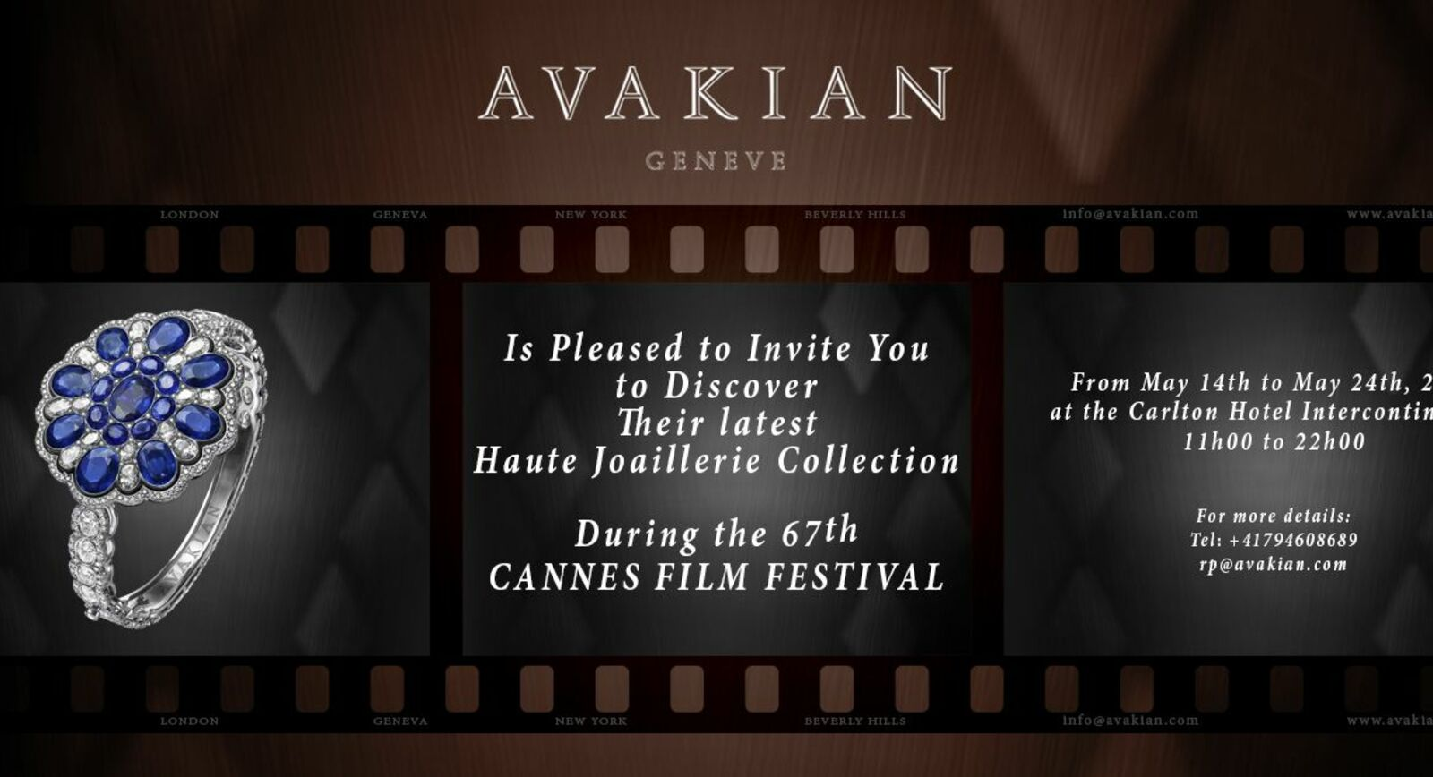 Cannes Special: AVAKIAN High Jewellery Preview