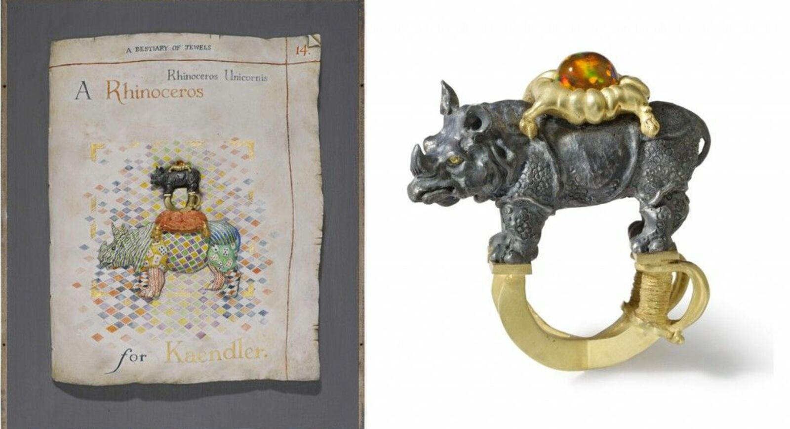 Kevin Coates' A Bestiary of Jewels' at the Ashmolean Museum