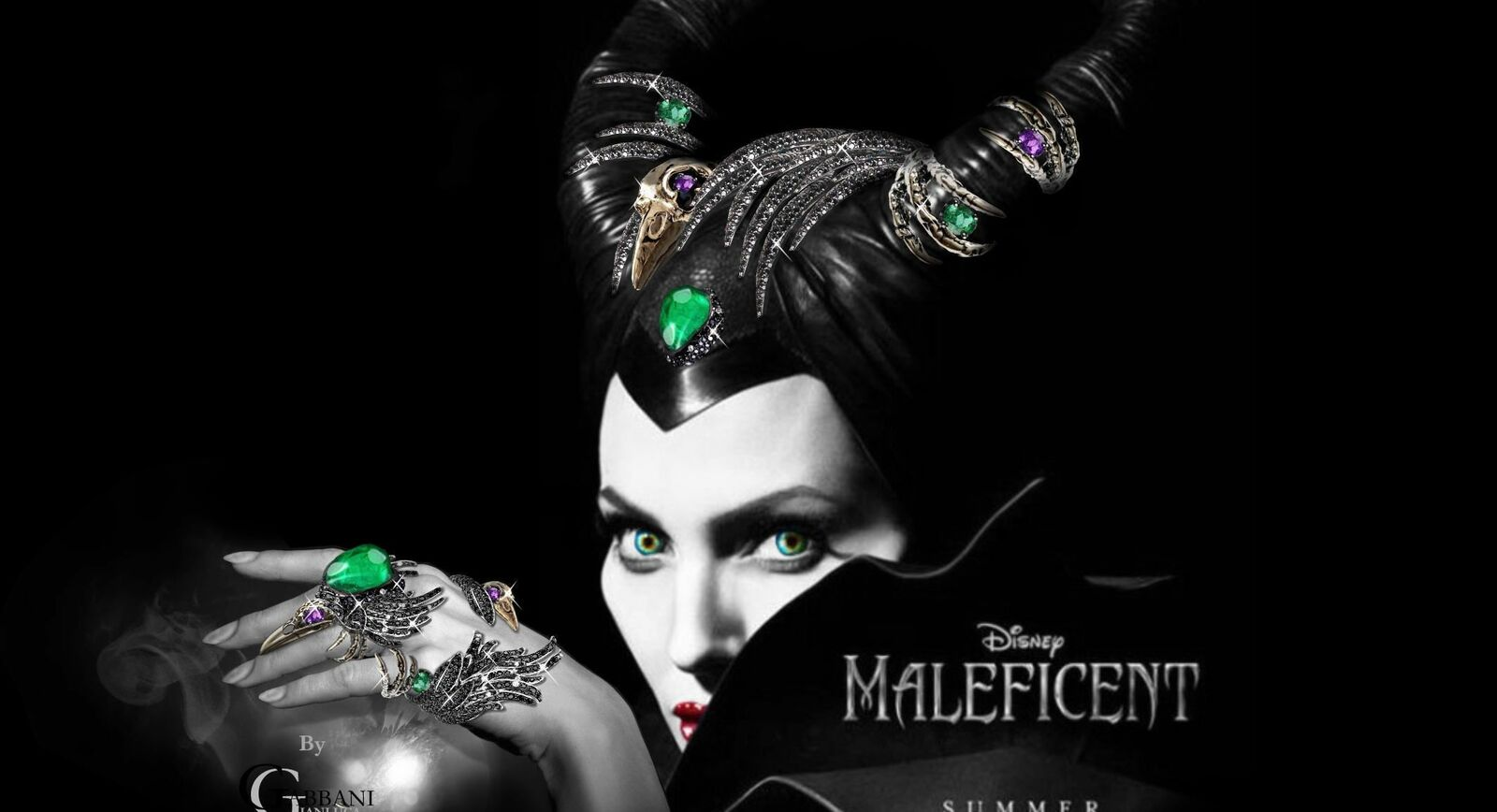 Imaginary Jewels for Maleficent