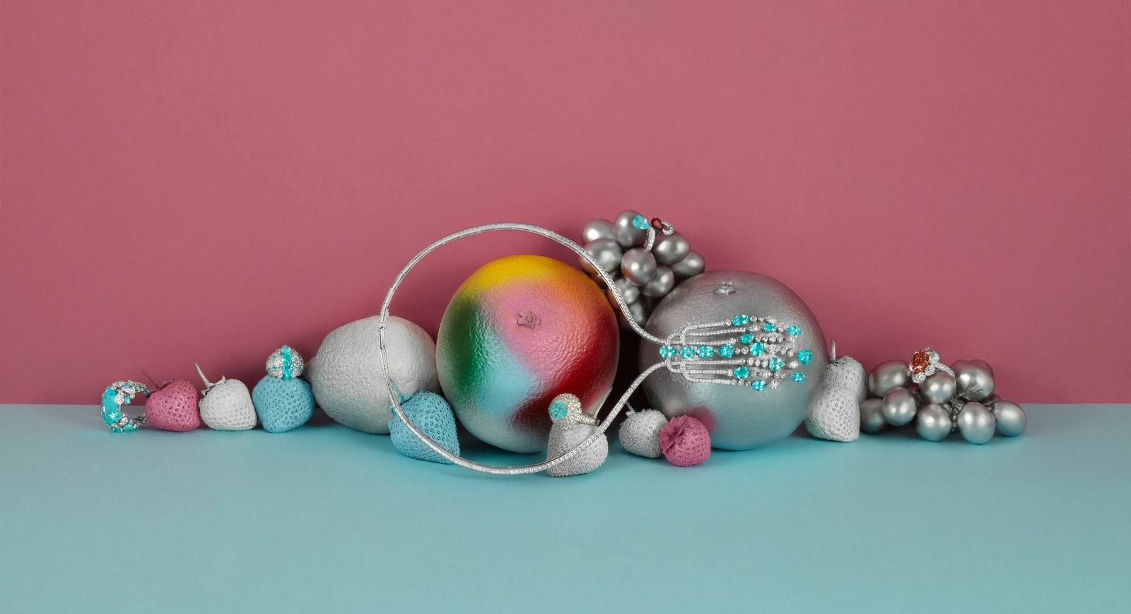 'Tasty' Jewellery: Fine Fruit Editorial