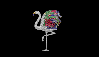 S1x1 flamingo brooch cartier paris special order 1940  966x1200