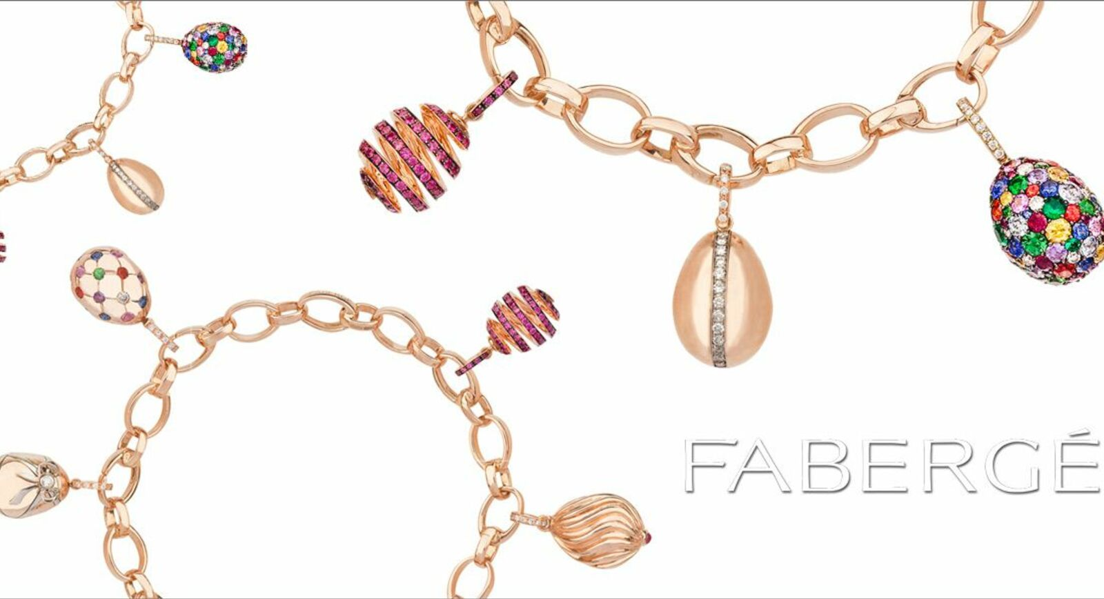 A Jewellery Must-Have: The Fabergé Charm Bracelet