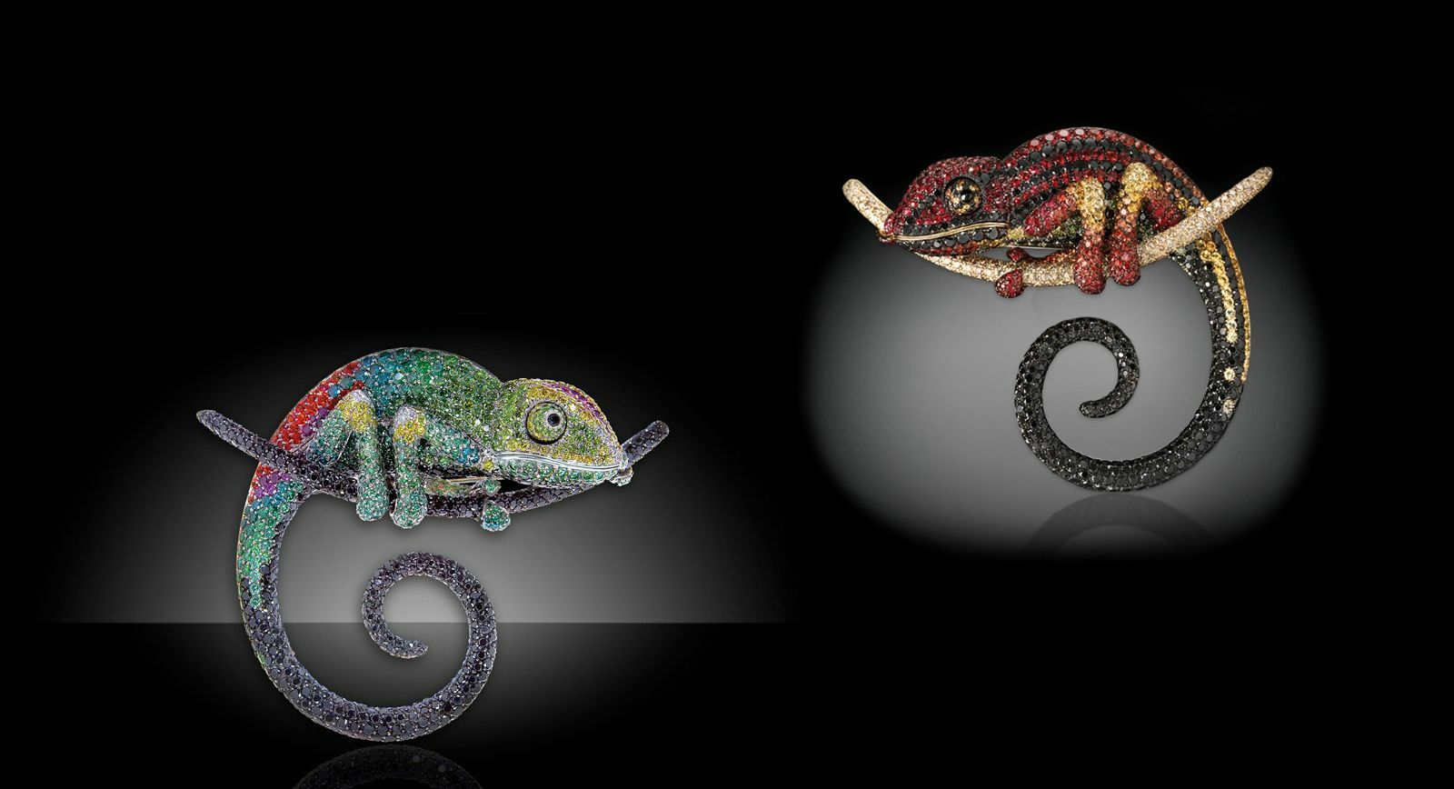 Chameleon Brooch by Palmiero – a Symbol of Strength and Awareness