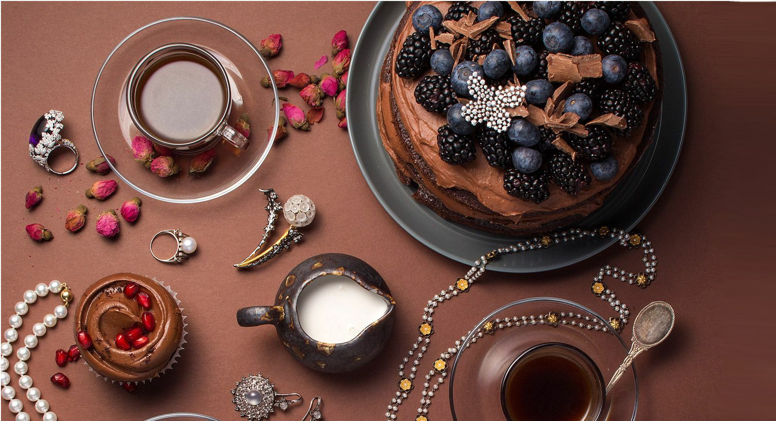 Jewellery Editorial: Bejewelled Tea Party – Part 3