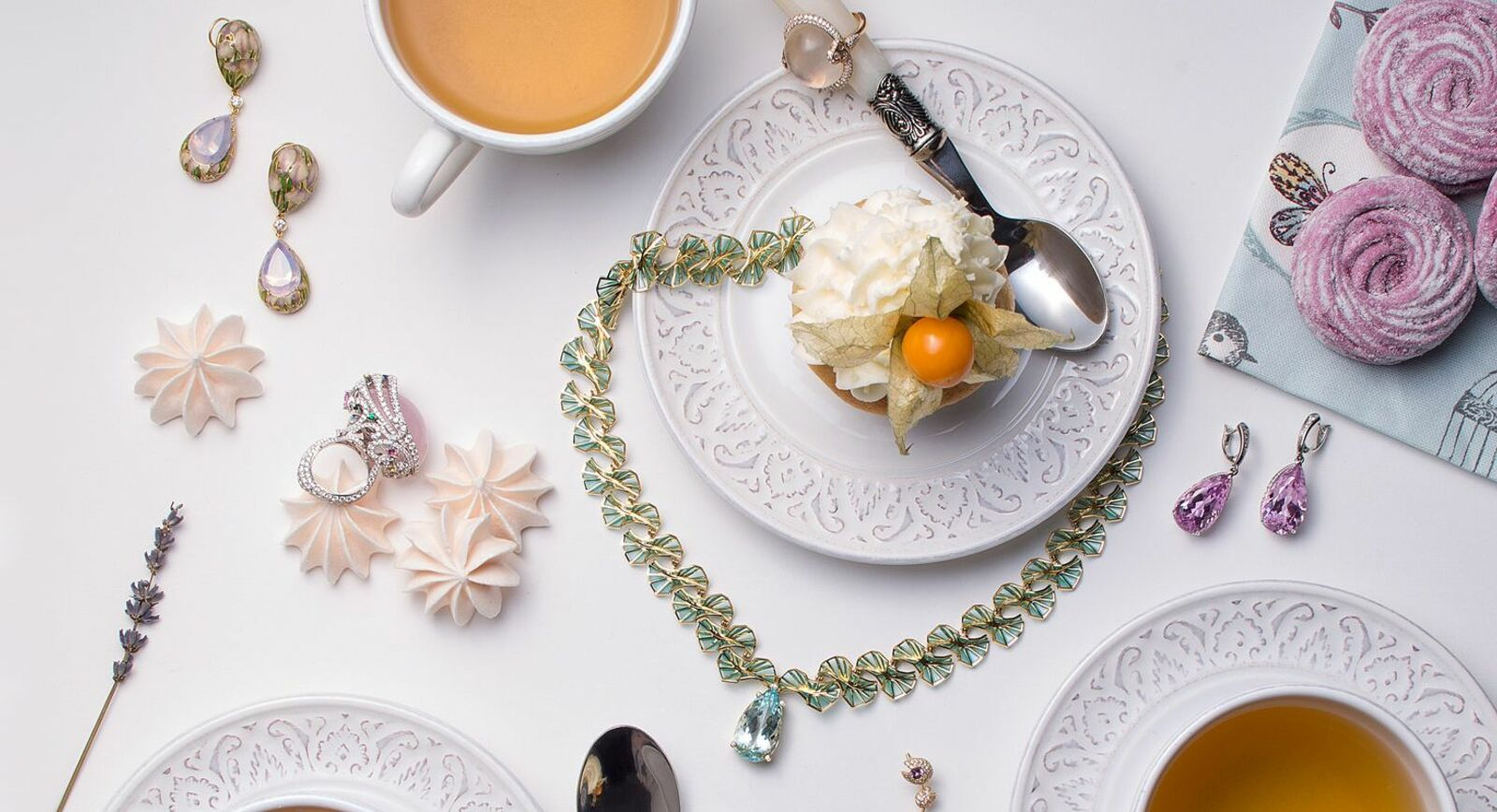 Jewellery Editorial: Bejewelled Tea Party – Part 1