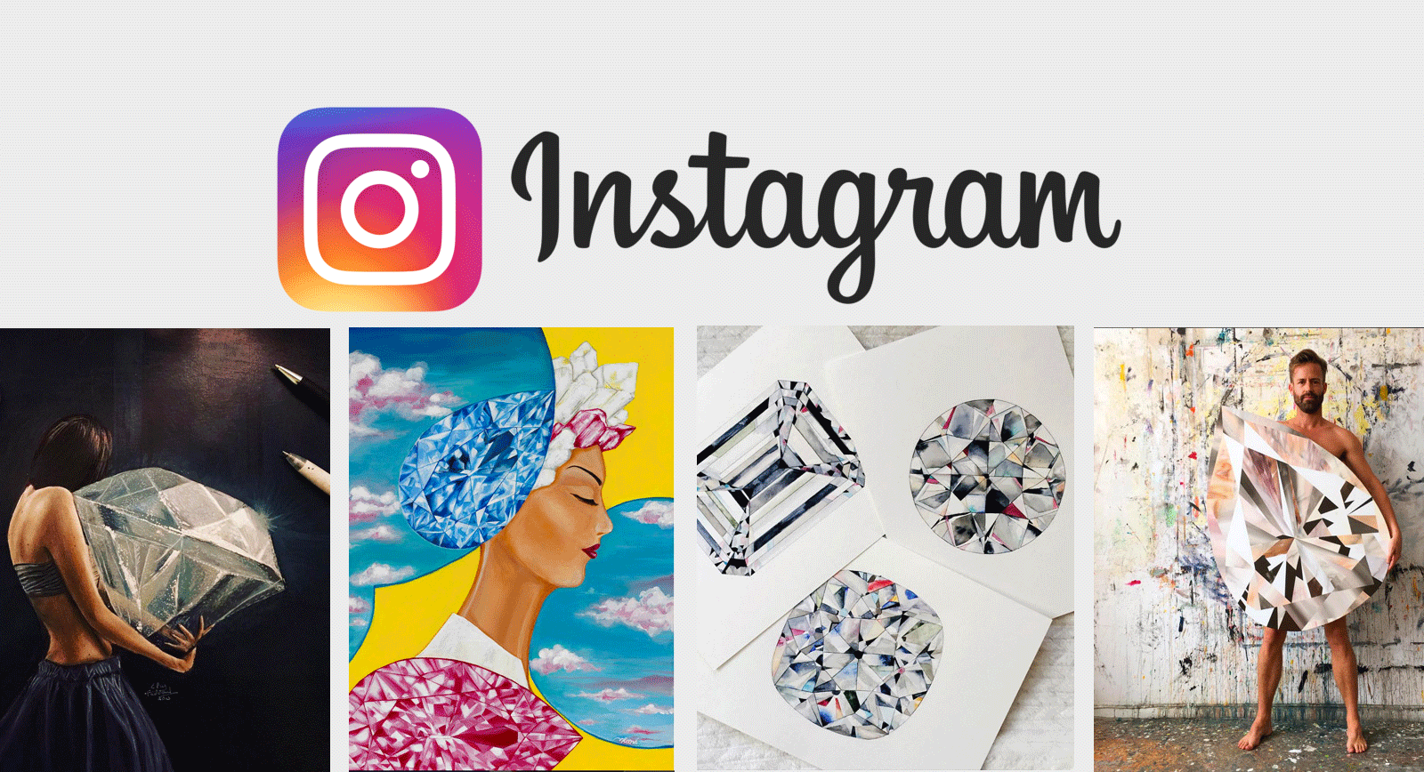 INSTAGRAM: The Best Accounts of Artists Who Paint Gemstones