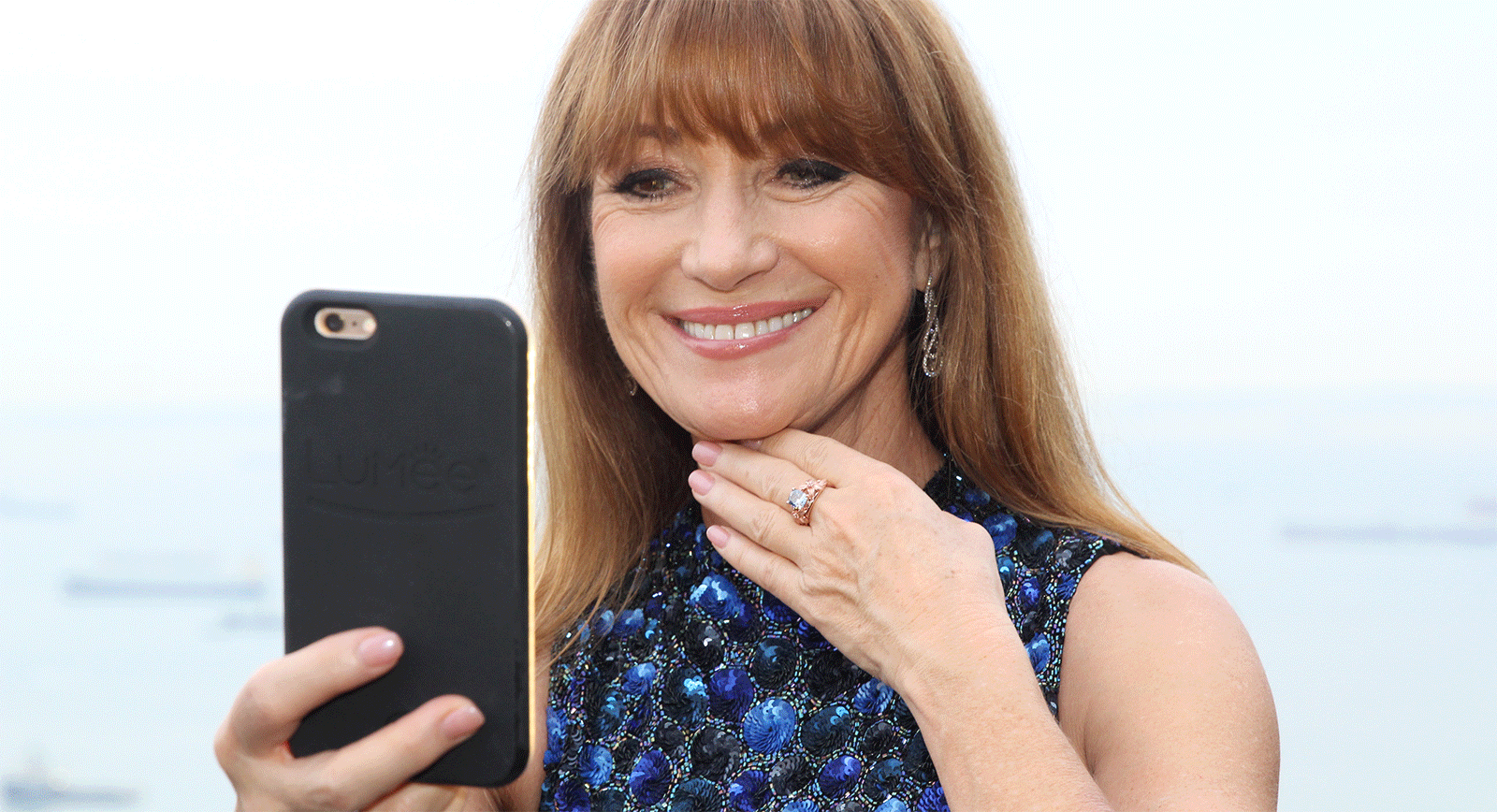 Jane Seymour Blue Diamond Ring – A Sparkling Ode To The Great Actress