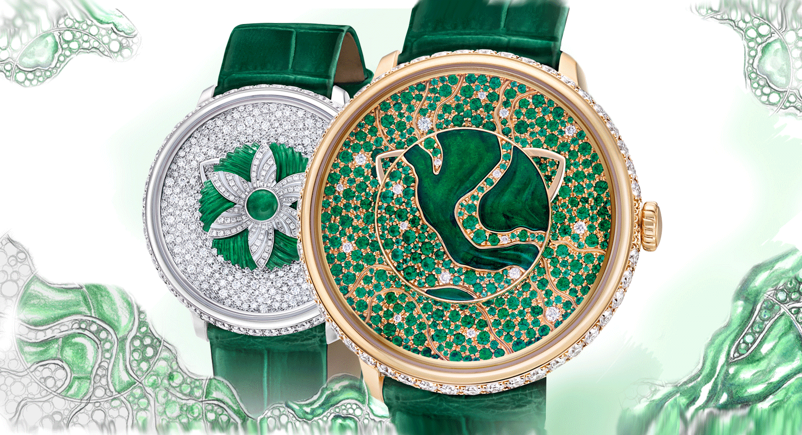 Fabergé Unveils New Watches As Part Of The Dalliance Collection
