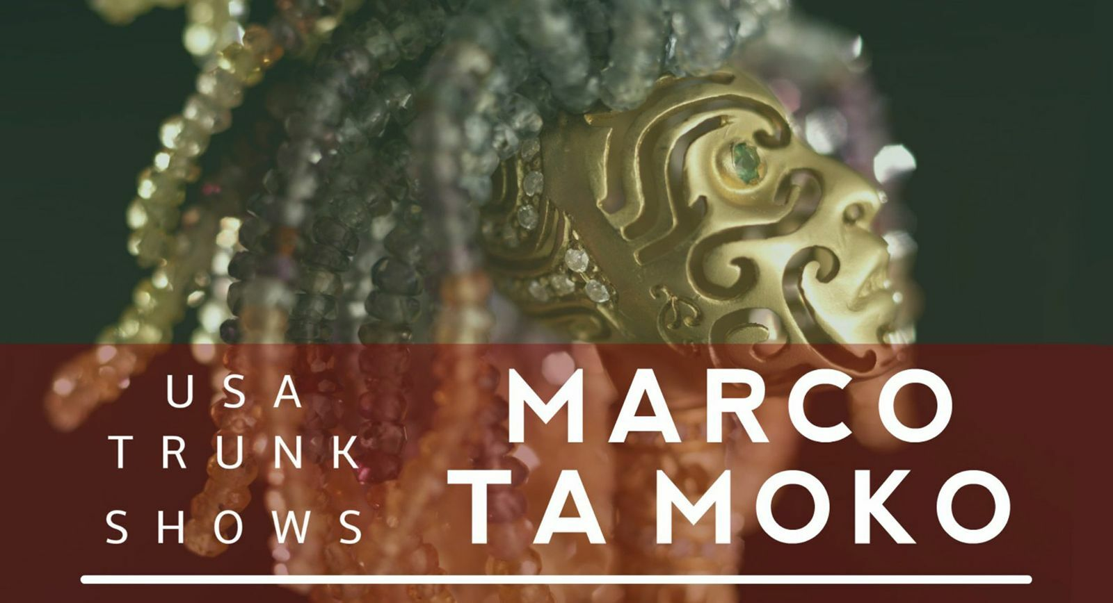 Marco Ta Moko Presents Best Men's Jewels During Neiman Marcus Italian Jewellery Festival
