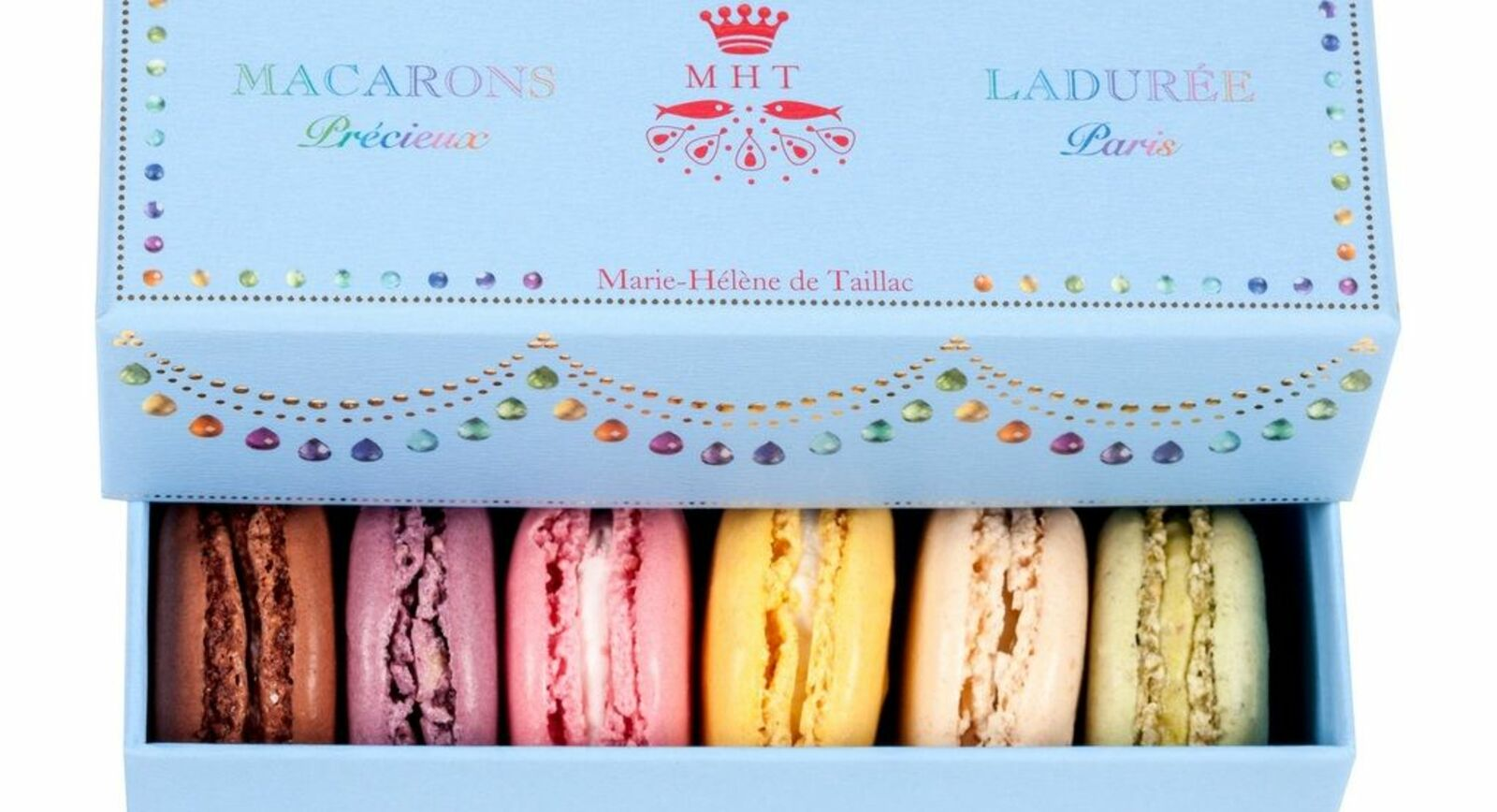 Marie-Hélène de Taillac Teams Up With Ladurée