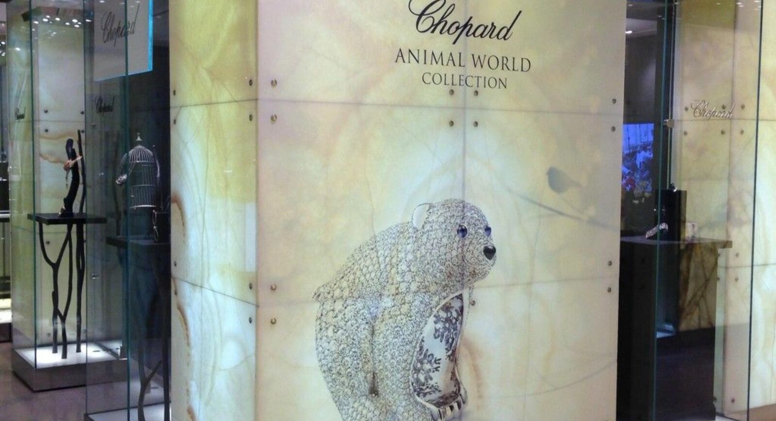 Chopard's Animals Are To Spend Winter in Harrods