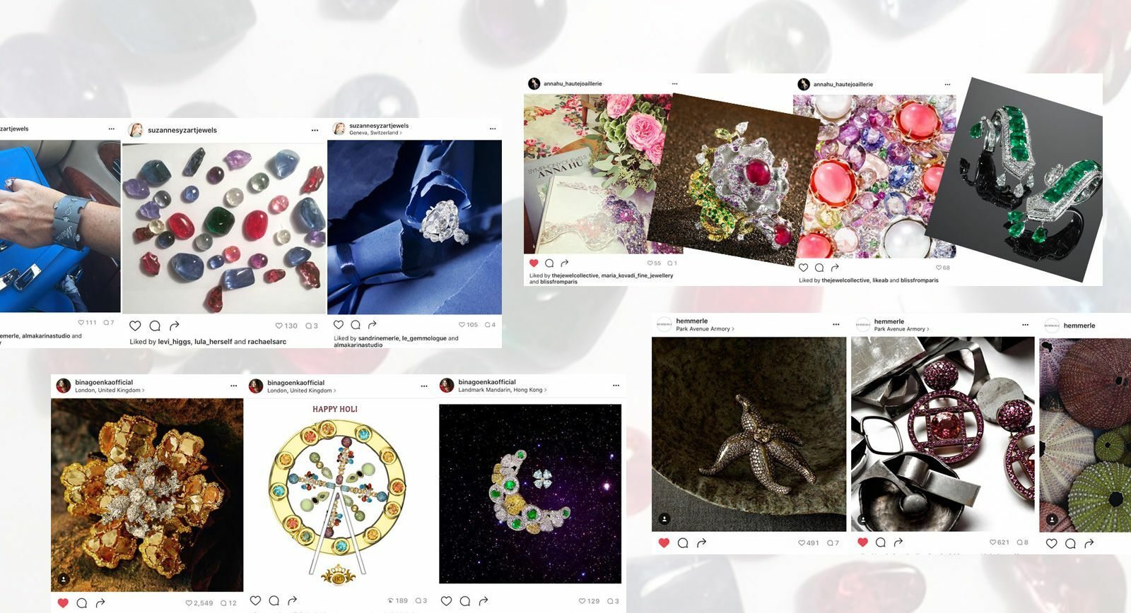 Power of Instagram Attracts Celebrity Jewellers and Exclusive Brands