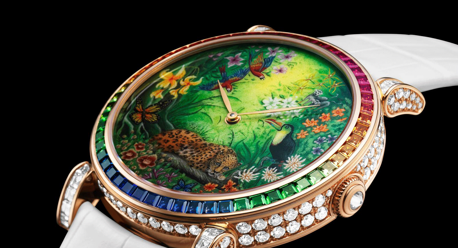 Sparkly Six: Rainbow-hued Jewellery Watches for Summer