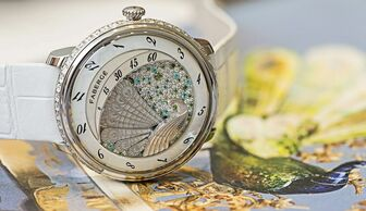 S1x1 faberge   lady complique  e peacock watch 2015