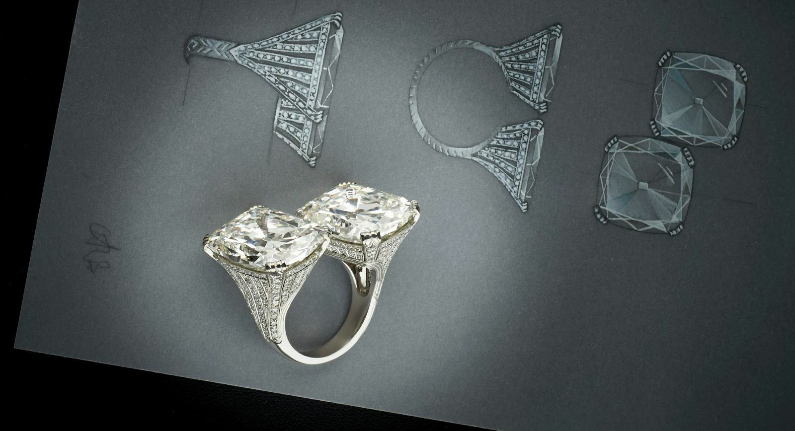 Diamond Trilogy. Part 1: Rings With Unusual Diamond Cuts