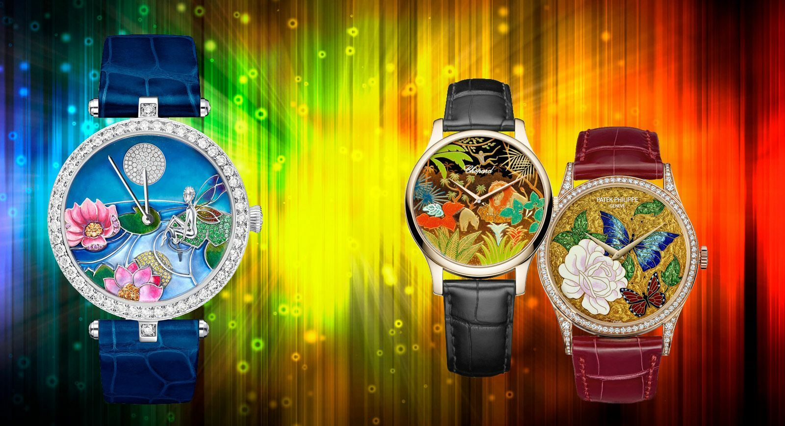 Bright Colourful Watches - Perfect Partner to Summer Wardrobes