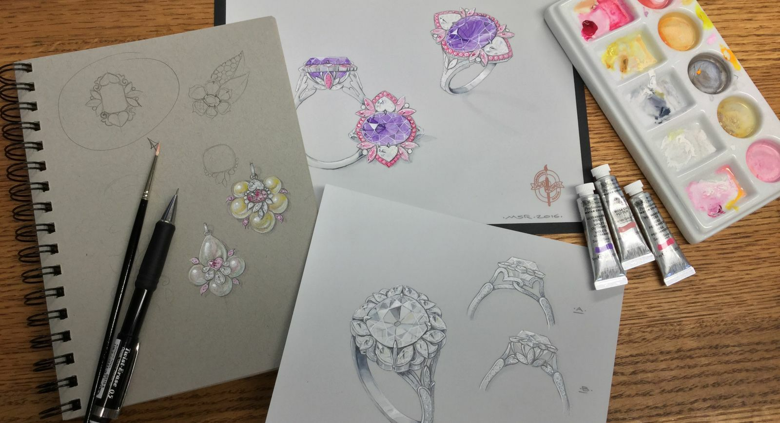David Michael: Jewellery Art Forged In Blood