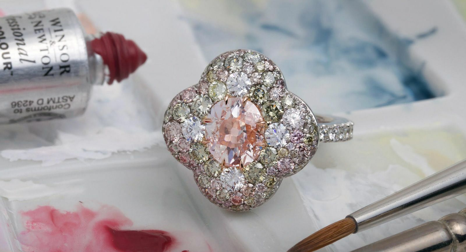 David Michael Jewels  and their blazing love for pink diamonds